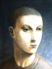 1985, Self-Portrait 06, Acrylic on canvas, 30cm x 25cm