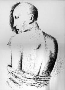 1987, Back, Lithograph