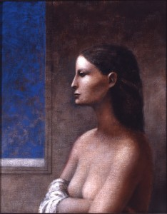 1985, Espangole, Acrylic on canvas, 61cm x 46cm