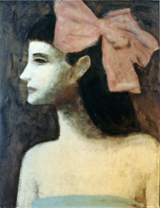 1997, Infanta, Acrylic on board, 46cm x 36cm