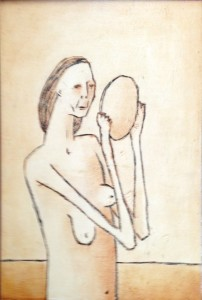 1975, Untitled 04, Mixed media, 40cm x 30cm