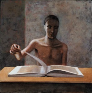 1985, Picture Book I, Acrylic on canvas, 54cm x 64cm