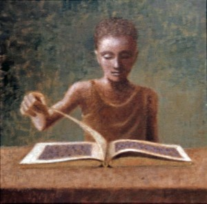 1987, Picture Book II, Acrylic on canvas, 36cm x 36cm