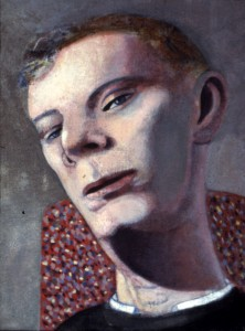 1982, Male Portrait 02, Acrylic on canvas, Dimensions unknown