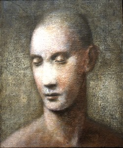 1983, Male Portrait 05, Acrylic on canvas, 30cm x 22cm