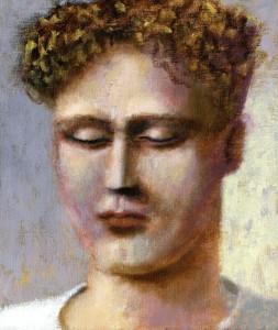 1999, Self-Portrait 01, Oil on canvas, 36cm x 30cm